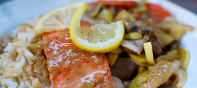 Summer Salmon Salad (Paleo and AIP option)