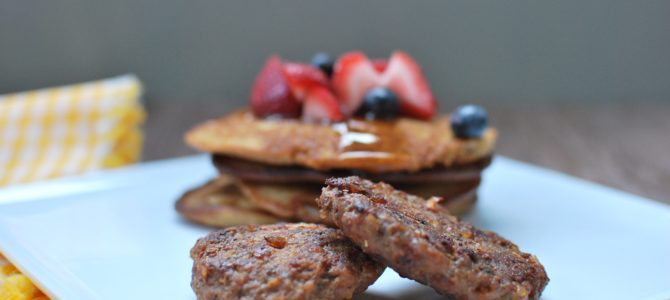 Paleo or AIP Breakfast Sausage