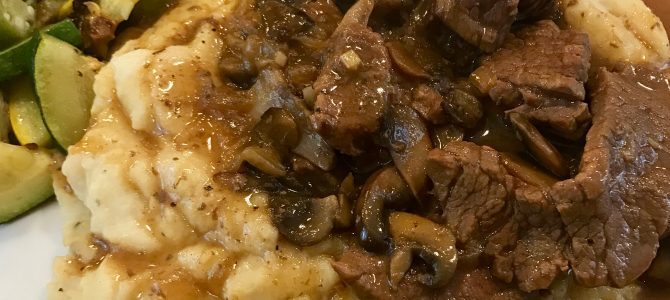 Instant Pot Beef Stroganoff (AIP, Whole30)