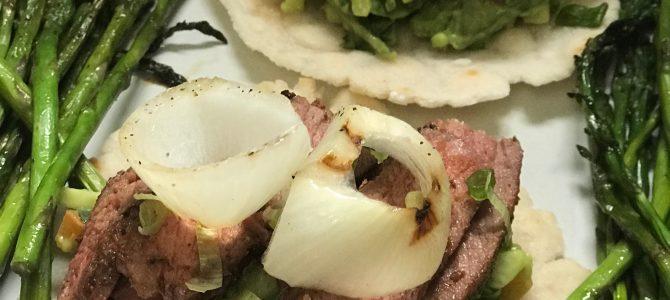 Steak Tacos with Zesty Avocado Salad