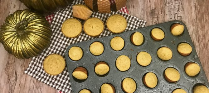 Quick and Easy Gluten Free Pumpkin Muffins
